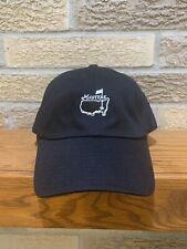 Masters Golf Tournament Black Cap Hat Adjustable American Needle NWT