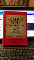 Scarce Chess Book Karpov v Kasparov 1987 WCC by Nikolaiczuk HC DJ 1st edtion