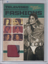 2011 PANINI MICHAEL JACKSON TELEVISED FASHIONS WORN RELIC SHIRT USED COSTUME SP