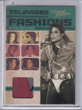 2011 PANINI MICHAEL JACKSON TELEVISED FASHIONS WORN RELIC SHIRT USED COSTUME SP