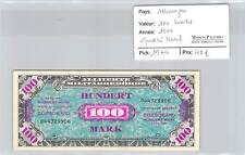 BILLET ALLEMAGNE - 100 MARKS 1944 - QUASI NEUF !!!