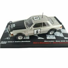 Mercedes Benz 500 SLC Waldegard Rally Bandama 1980 1:43 Ixo Altaya Diecast