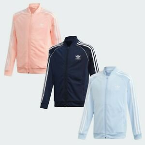 Adidas Track Jacket Top Boys Girls 🔥 Age 4-5-6-7-8 Years CLEARANCE GENUINE SST®