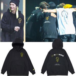 Kpop Stray Kids District 9 Unlock Concert Unisex Cap Hoodie Coat D071
