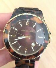 MICHAEL KORS Brown Tortoise Shell Acetate Ladies Watch MK5298