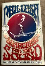 PHIL LESH-SEARCHING FOR THE SOUND-GRATEFUL DEAD-ADVANCE READING COPY- WITH PROMO