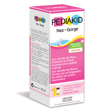 Pediakid Nez-Gorge Helps to clear and soothe the airways 125ml.