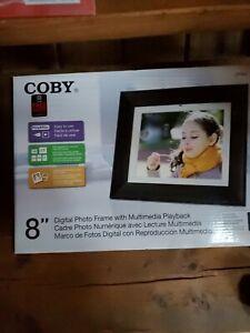 "Coby 8"" Digital Photo Frame"