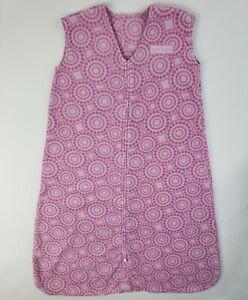 Halo Sleep Sack Pink XL 18-24 Months Baby Girls Zip Up Blanket Swaddle 26-36 Lbs
