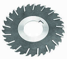 "10 x 1/8 x 1-1/2"" HSS Metal Slitting Saw With Staggered Side Teeth"