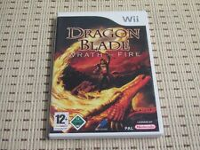 Dragon Blade wrath of Fire pour nintendo wii et wii u * OVP *