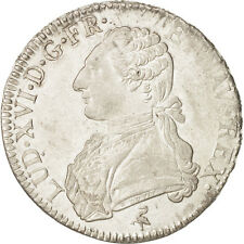 Monnaies, France, Louis XVI, Écu aux branches d'olivier, 1789, Paris #18610