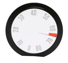 1958 Chevrolet Corvette Tachometer Face 8000 RPM