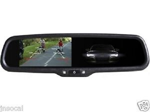 """4.3"""" Rearview Mirror Monitor 2 video for selected Ford,Nissan,Toyota,Honda,Mazda"""