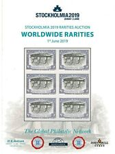 Worldwide Rarities - Ny 2016 & Stockholmia 2019 - Two Auction Catalogs