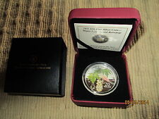 $20 Canadian Maple Leaf Crystal Raindrop Coin (2011)