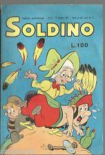 SOLDINO # 22- EDITORIALE BIANCONI- 21 OTTOBRE 1967 - OTTIMO  - CO1