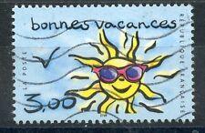 TIMBRE FRANCE OBLITERE N° 3241 BONNES VACANCES / photo non contractuelle
