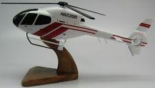 Eurocopter EC-120 Colibri Helicopter Desktop Kiln Dry Wood Model Regular New