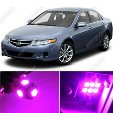 10 x Premium Hot Pink LED Lights Interior Package Kit for Acura TSX 2004-2008