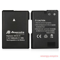 EN-EL14 Li-Ion Battery For Nikon DSLR P7000 P7100 D5300 D5200 D5100 D3200 D3100