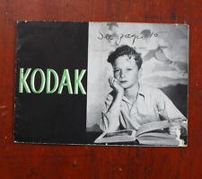 Kodak 1937 Product Catalog, January A Bit Ratty/cks/211495