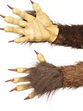 Krampus Démon Gants Latex Bête Animal Accessoire Déguisement Halloween