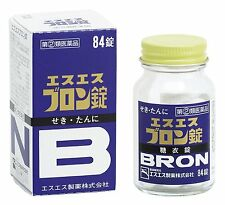 SS Seiyaku SS Bron 84 Tablets Cold Medicine Cold and Cough Japan