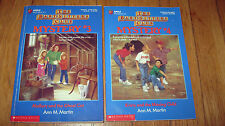 Lot 2 The Baby-Sitters Club Mystery #3 & #4  Ann M. Martin