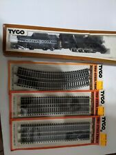 """TYCO HO-SCALE """"CHATTANOOGA 638"""" TRAIN LOCOMOTIVE/STEAM ENGINE W/TENDER & TRACK'S"""