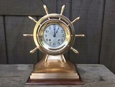 "Chelsea ""Mariner� Yacht Wheel Clock"