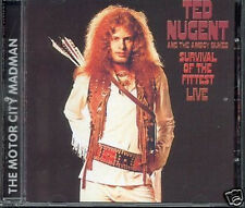 """TED NUGENT & THE AMBOY DUKES: """"Survival of the apte"""" (CD)"""