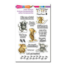 HOUSE MOUSE RUBBER STAMPS CLEAR SO SWEET PCS NEW clear SET