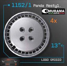 4 Original MURAMA 1152/1 Radkappen für 13 Zoll Felgen FIAT PANDA RESTYLING FR. G