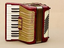 Very Nice Accordion Hohner Concerto I  48 bass including case