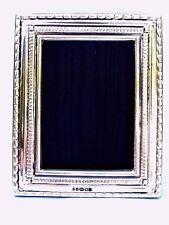 Precioso Mejor Calidad 999 plata ley Londres & Britannia marcas Marco De Foto