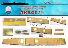 Shipyard 1/700 700032 Wood Deck IJN Akagi for Fujimi