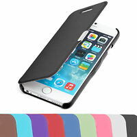 Handy Tasche für Apple iPhone Slim2 Flip Case Cover Schutz Hülle Etui Schale