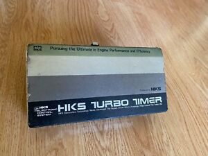 HKS Turbo Timer Gen 2 Rare AE86 Celica Supra 80s New Vintage Soarer Datsun 240sx