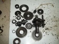 2008 SUZUKI KING QUAD 750 4WD TRANSMISSION GEARS