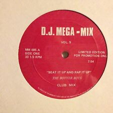 THE BOVVER BOYS • Beat It Up And Rap It Up • Vinile 12 Mix • PROMO