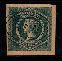 New South Wales 1854-59 Mi. 16 Gestempelt 100% Königin Victoria, 5 P