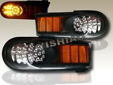2007-2014 TOYOTA FJ CRUISER BLACK LED BUMPER CORNER SIGNAL LIGHTS