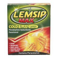 Lemsip Max Cold & Flu s Lemon 5 Sachets