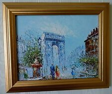 Framed Impressionest Oil Painting By Des Voesec - Truly Lovely