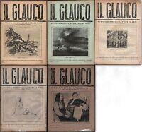 ARTE-FUTURISMO-SCULTURA-IL GLAUCO RIVISTA DI LETTERE E ARTI-U.FAGIOLI-1941-L2361