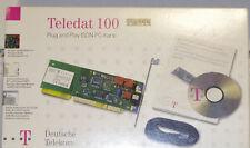 +++NEU+++ Teledat 100 - ISDN Karte + Kabel -OVP-