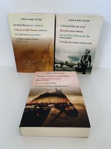 Todays Best Fiction Select Editions Readers Digest x 3 Paperback Like New