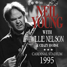 NEIL YOUNG & CRAZY HORSE New Sealed Ltd Ed 2017 UNRELEASED 1995 LIVE CONCERT CD