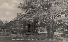 Berry-Lincoln Store, New Salem State Park, Lincoln's New Salem IL Postcard
